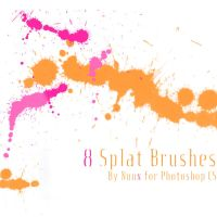 Nuux Splatter Brushes by Nuux