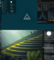 Arch Deepin by chicoray