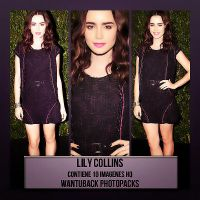 Photopack 465: Lily Collins by PerfectPhotopacksHQ