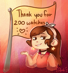 Thanks for 200! by SaphireCat11
