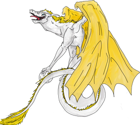 The White Dragon by AutumnLegacy