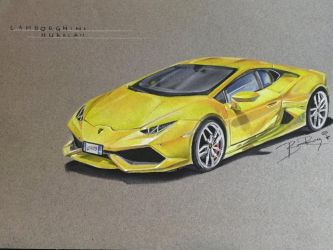 Lamborghini Huracan- completed by Lightoma