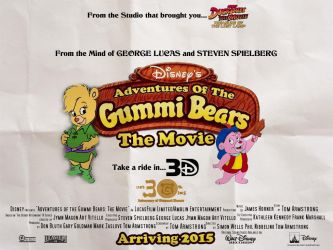 Disney's Adventures of the Gummi Bears UK poster by TomArmstrong20