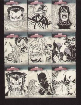 Marvel cards 1 by Mulv