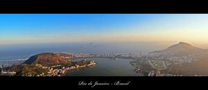 Rio de Janeiro - View from Corcovado by byCavalera