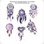 Watercolor Dreamcatchers PS brushes by iCatchUrDream