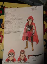 Sonia the assassin character sheet