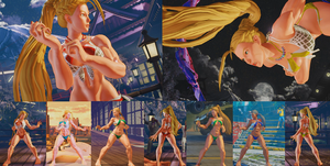 Cammy Hinode SSR Swimsuit - SFV Mod by ecchigamer