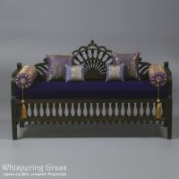 Moroccan sofa 1/4, 42 cm long. by scargeear