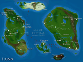 Fionn Map by Strayfish