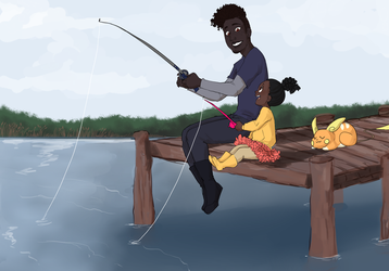 [PTS] First fishing trip by cuddlycuttlefish