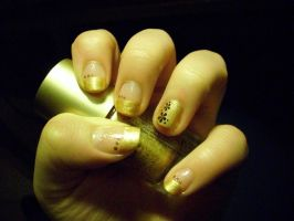Nail art n.7 by megalomaniaCi