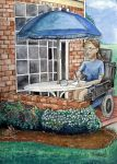 Self Portrait- House Painter by DarkRubyMoon