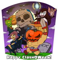 Happy Clash-O-Ween 2017 by Adam-Clowery