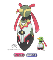 Ghostober Day 1: Xatu
