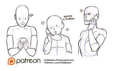Holding Telephone reference sheet by Kibbitzer
