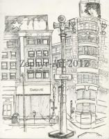 Union Square 6 San Francisco by Zephyr-Art