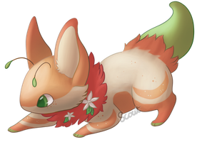 Orange Blossom Bea! by ScoutCritter