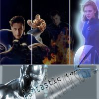 Fantastic 4 CD cover by sineddine