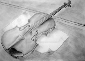 Violin by SFrostWing
