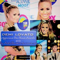 ~Demi Lovato Appearance Teen Choice Awards 2012 by AndreDevonne