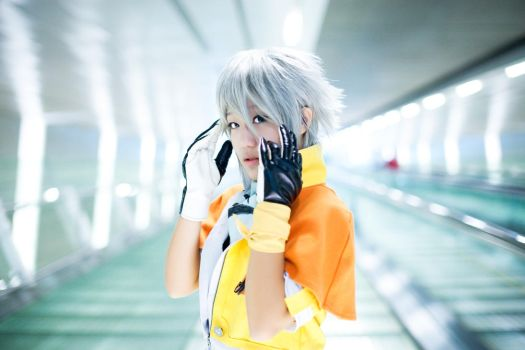 Final Fantasy XIII - Hope by XkaOnslaught