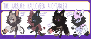 Jarburi Halloween Special [Auction CLOSED] by momo-hoskin