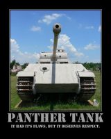 WWII Panther Tank by Onikage108