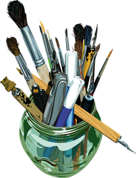 drawing tools by DerkhanBlue