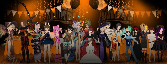 ComiPo Clubhouse Halloween Party 2017 by ComiPoser
