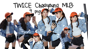 TWICE PNG Pack Chaeyoung {MLB Korea} by soshistars