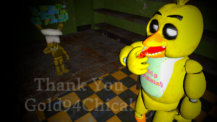 [SFM FNAF] Gift For Gold94Chica by nathano2426