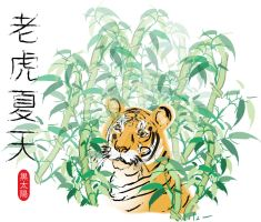 Tiger Summer by Izzabell
