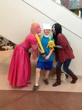 Adventure Time!: NYCC 2013 2 by Abbysaurus
