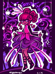 OC Pageant R1 - Fuchsia Sheep by NightMargin
