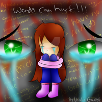 words can hurt comic tital page by NatalieGuest