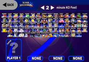 My Super Smash Bros Roster by AdmiralN30