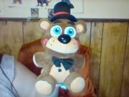 Toy freddy plushie by BluethornWolf