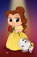 Belle in Yellow by toonbaboon