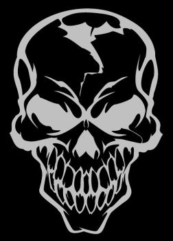 Skull by dxcouch