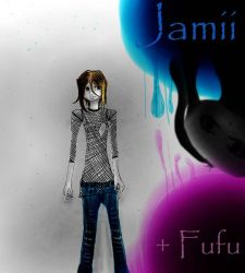 Jamii and Fufu by animelver123