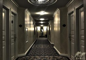 The Hallway by MisterGuy11
