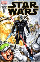 Hoth Walker sketch cover by gb2k