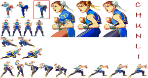 SFA Legends Chun-Li (unfinished) by Apoklepz