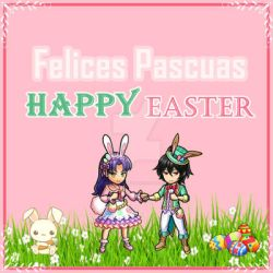 Felices Pascuas  Happy Easter Day by Mimi-Destino