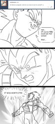 Ask Vegeta 50 by Camron23
