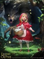 Red Riding Hood by atomiiii