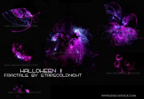 Halloween II fractals by STARSCOLDNIGHT by StarsColdNight