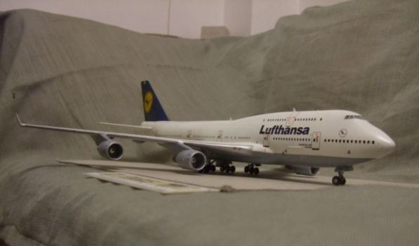 Boeing 747-400 Lufthansa pic.2 by the4ce