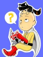 Saitama and Neko mob!? by ProjectWaker608